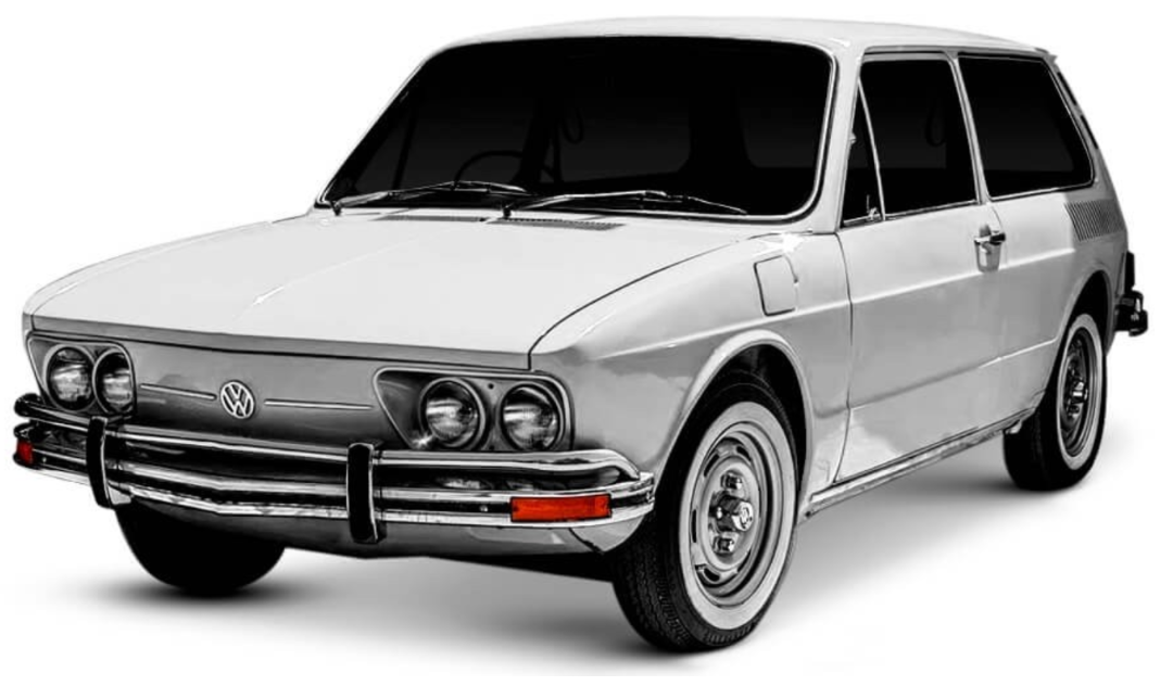 Capa De Tucho Motor Ar Vw Brasília Fusca e Kombi 0401093355