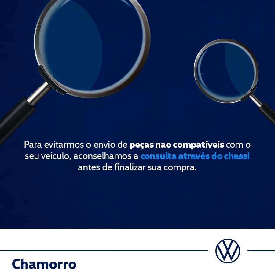 Chaveiro New Novo Logo Corporate Preto VW V04010073N002