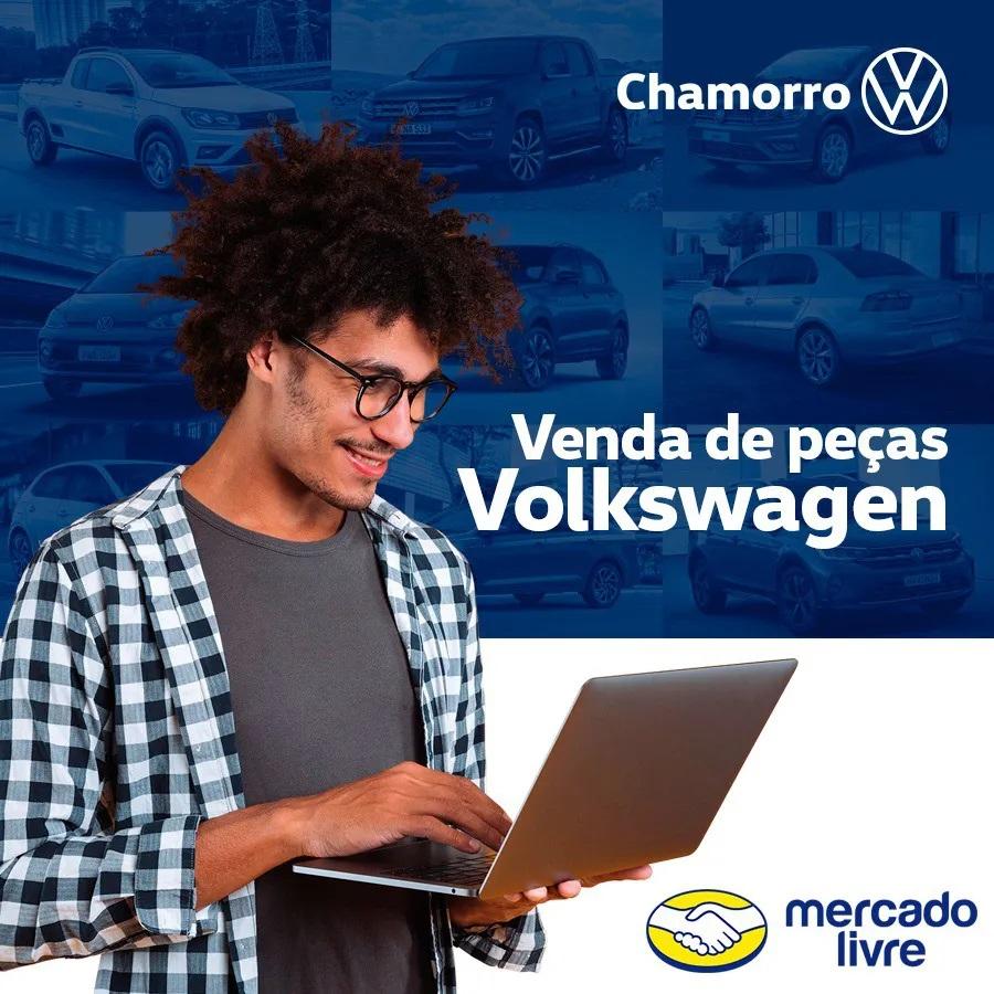 Chaveiro Power GTS Preto/Prata VW V04010073AA