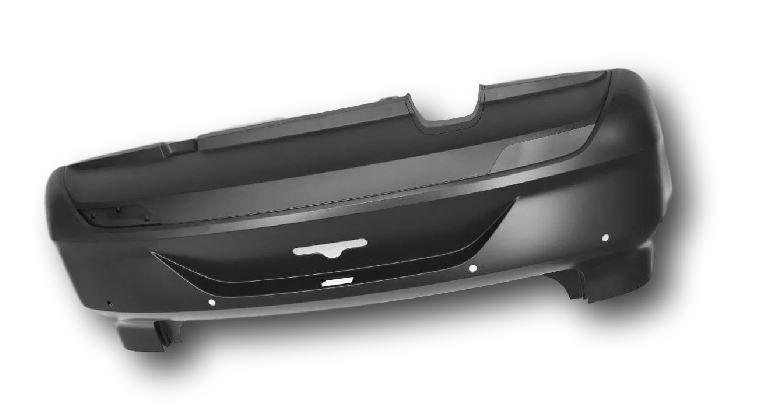 Cobertura parachoque traseiro para pintura Fox apartir 2015 VW 5Z6807421ABGRU