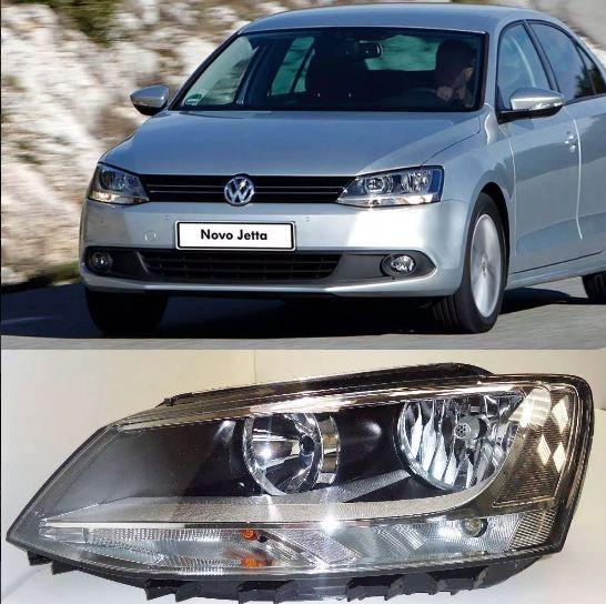 Farol Jetta 2011 Até 2017 VW Lado Esquerdo 5c7941005C