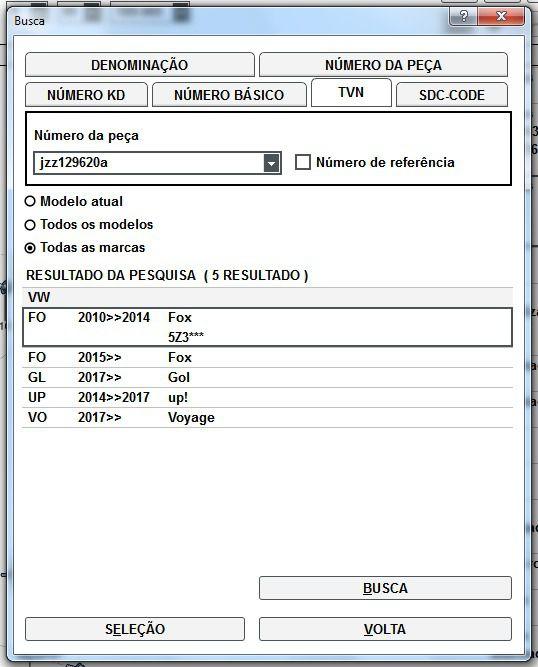 Filtro De Ar Motor 3 Cilindro Vw Fox Gol Up! Voyage JZZ129620A