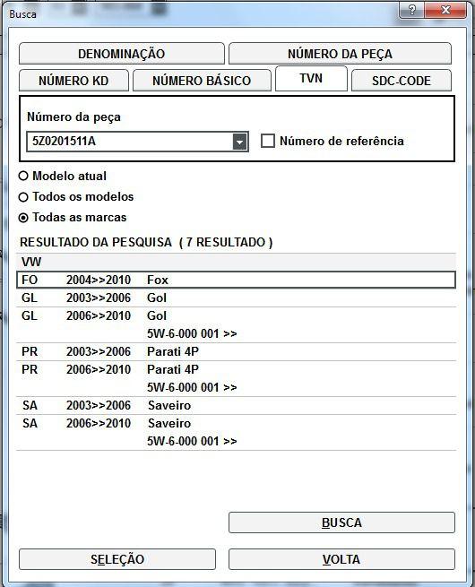Filtro De Combustível Vw Fox Gol Parati 5Z0201511A
