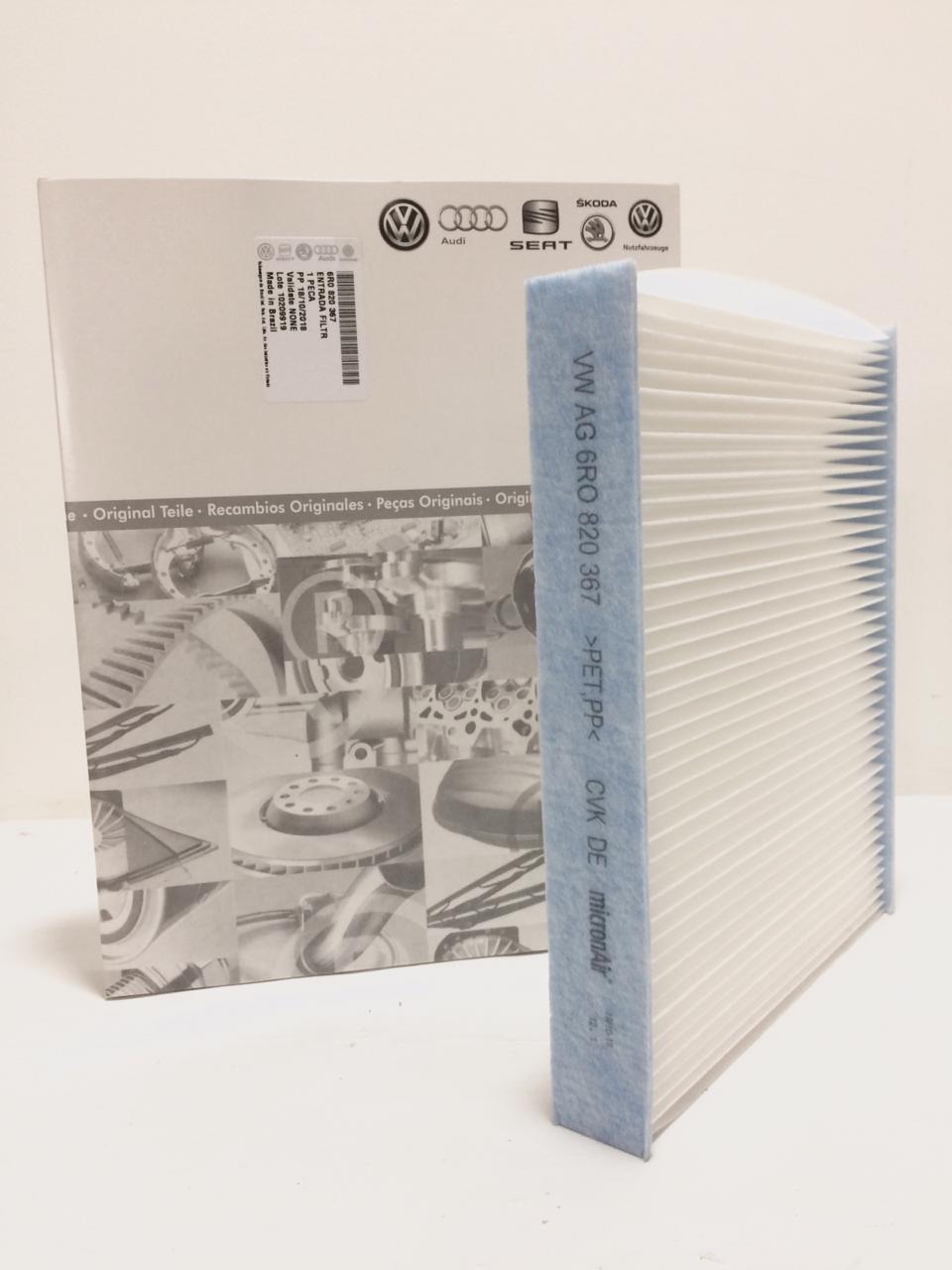 Filtro Do Ar Condicionado Vw Fox Gol Polo Saveiro 6R0820367