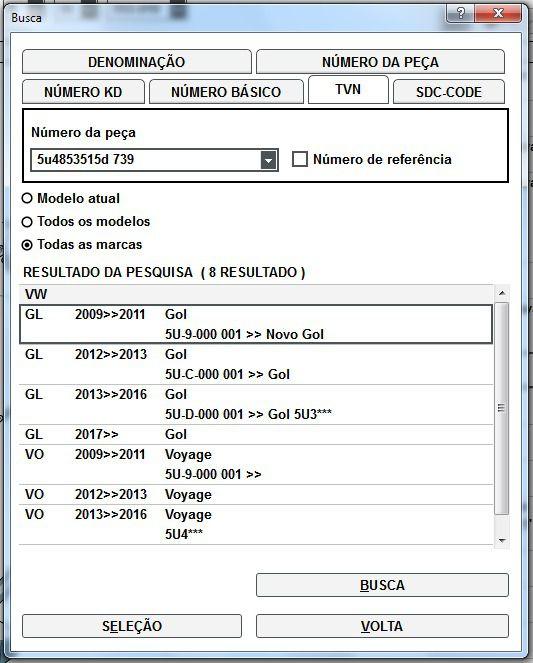 Friso Da Porta Dianteira Esquerda Vw Gol e Voyage 2009 a 2017