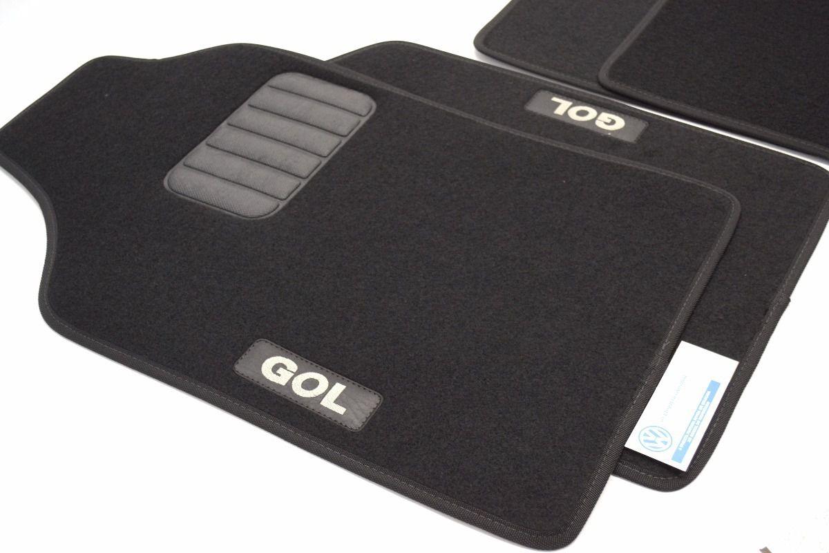 Jogo de Tapetes Carpete Vw Gol G5/G6/G7 5u0061225b1nn