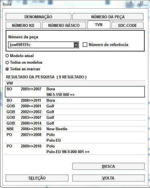 Jogo Pastilha Freio Dianteira Vw Golf Bora Polo JZW698151C