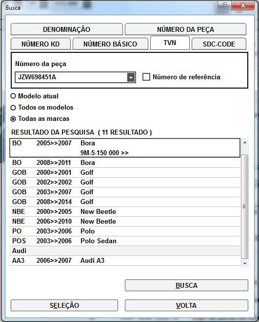 Jogo Pastilha Freio Traseira Vw Golf Bora Polo JZW698451A