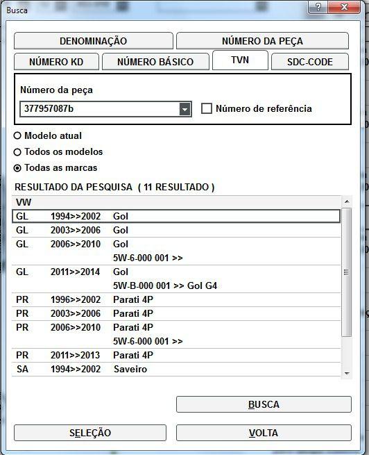 Kit 3 Botões Acabamento do Painel Vw Gol Parati Saveiro