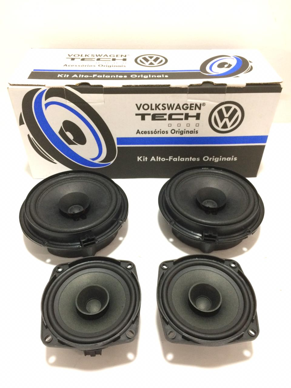 Kit Alto-Falante Original Vw Gol e Saveiro 5U0098609BB