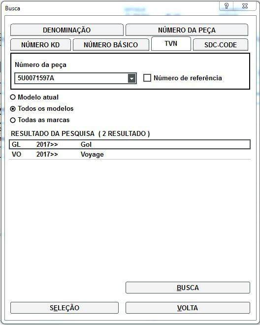 Kit Antifurto Estepe Volkswagen Gol e Voyage 5U0071597A