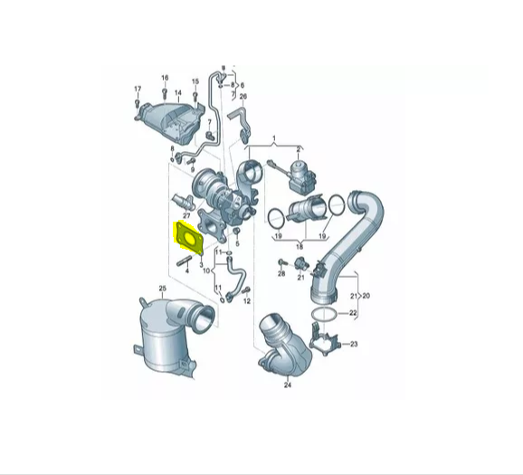 Manivela Acionamento Vidro Sem Motor VW Fox 04/14 - 5z3837461a