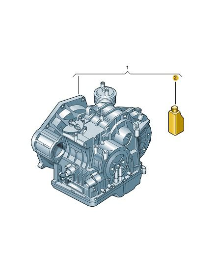 Óleo Câmbio Automático Vw ATF 3309 Jetta Golf Bora G055025A2