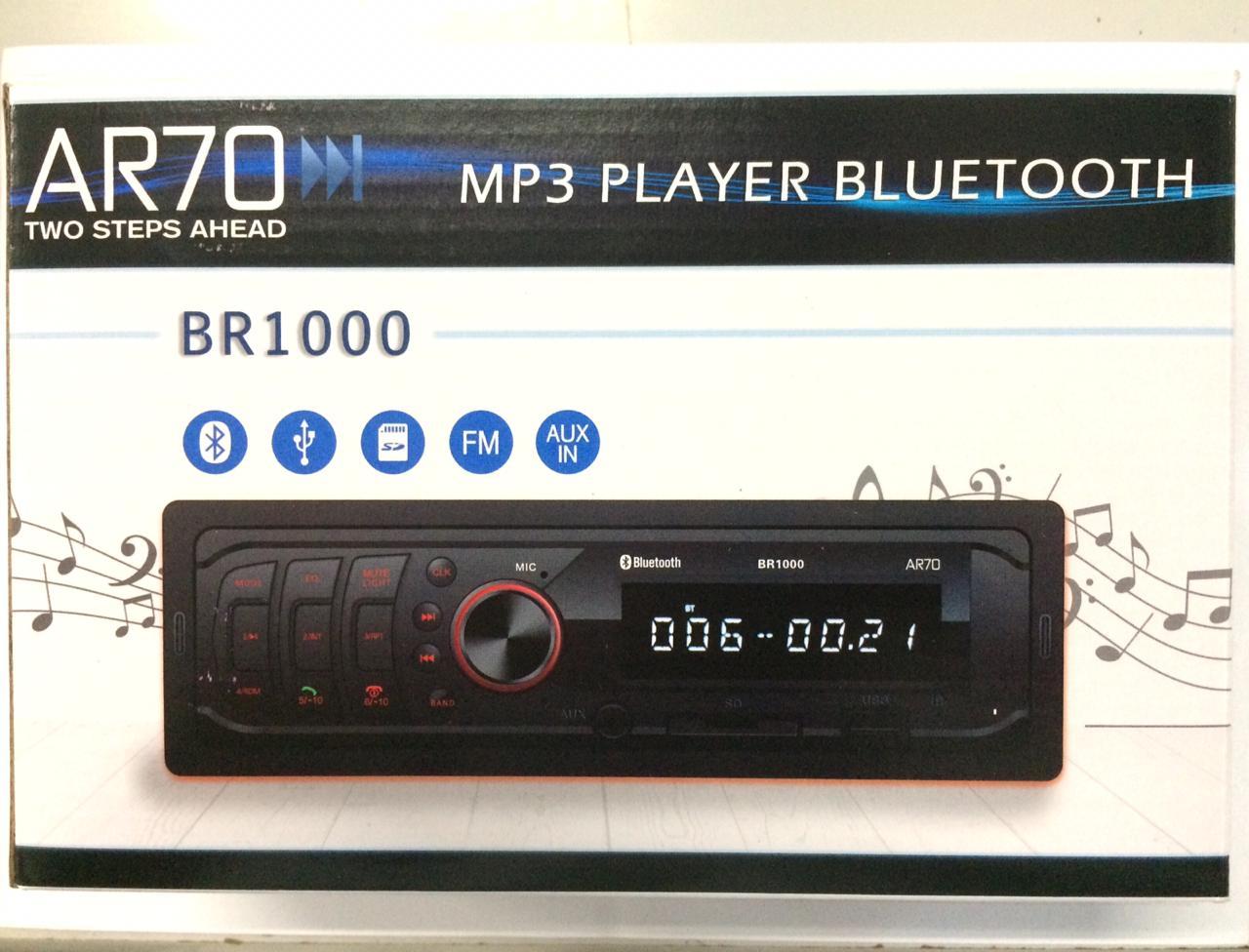 Radio Mp3 Vw com Bluetooh, Sd, Usb, P2 e Relogio V04011001a