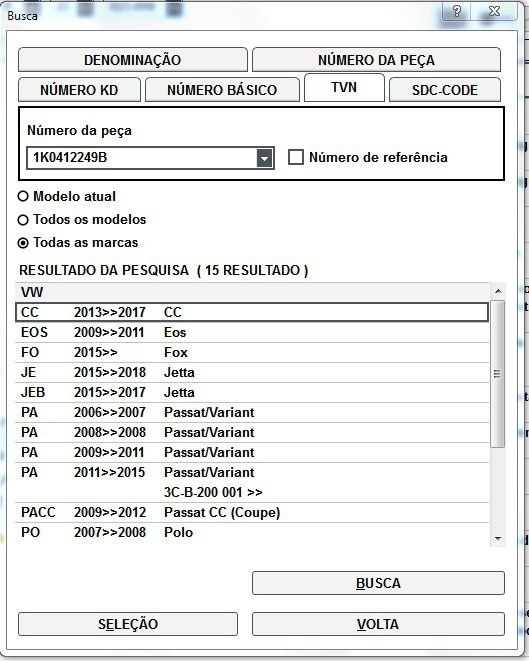Rolamento Amortecedor Vw Fox Jetta Passat Polo 1K0412249B