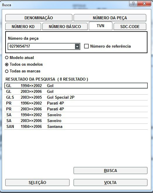 Suporte Cabo Velas Vw Gol Parati Saveiro Santana 0279054717