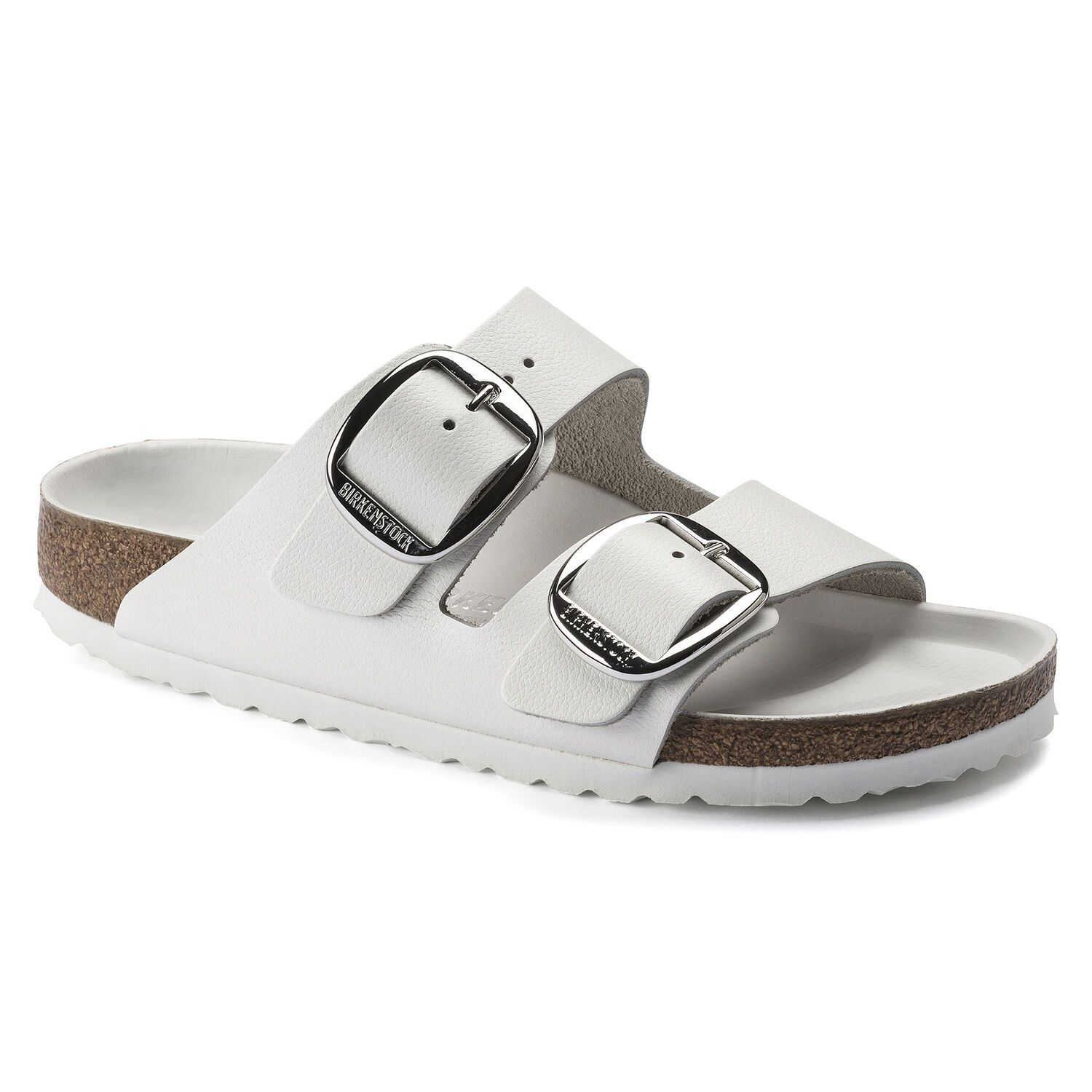 Birkenstock Arizona Big Buckle NL White HEX Narrow