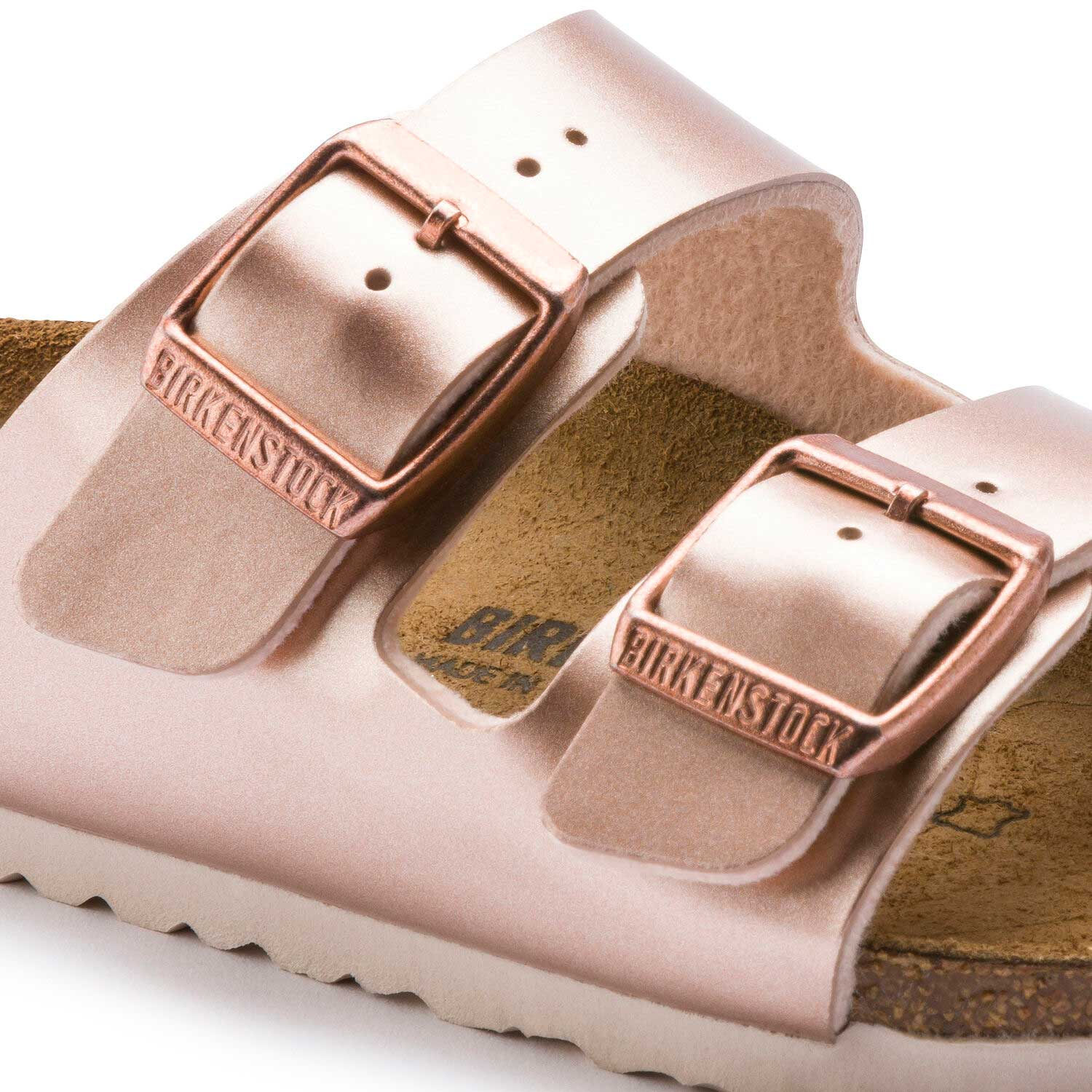 Birkenstock Arizona Kids BF Electric Metallic Copper Narrow
