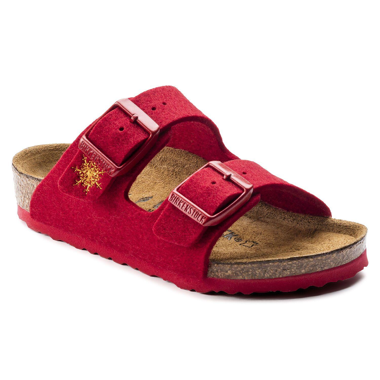 Birkenstock Arizona Kids WZ Red Snow Star Narrow EN