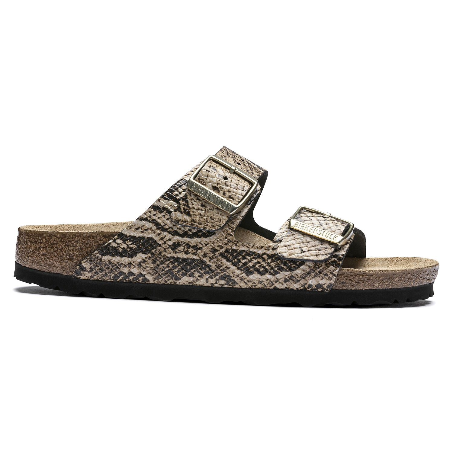 Birkenstock Arizona NL Snake Beige Narrow