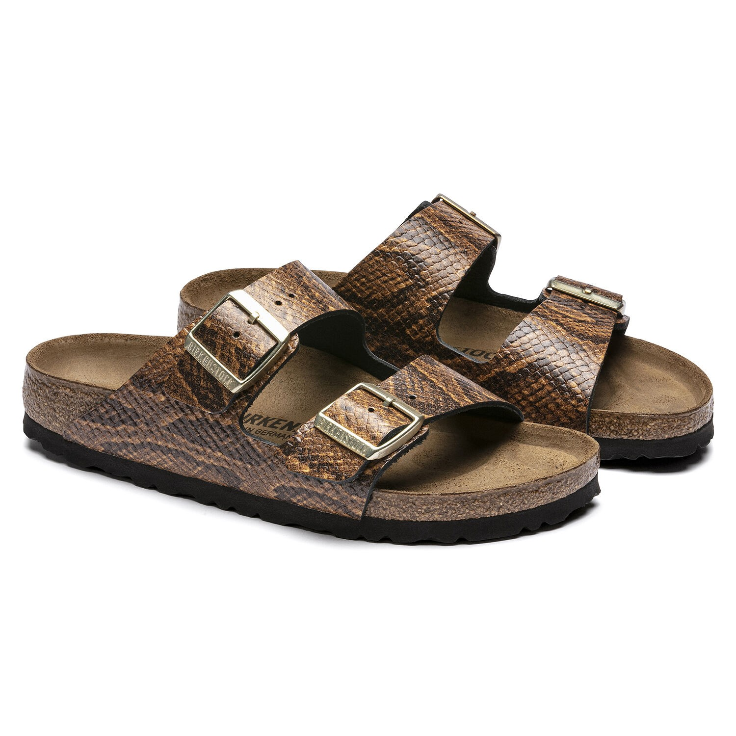 Birkenstock Arizona NL Snake Brown Narrow