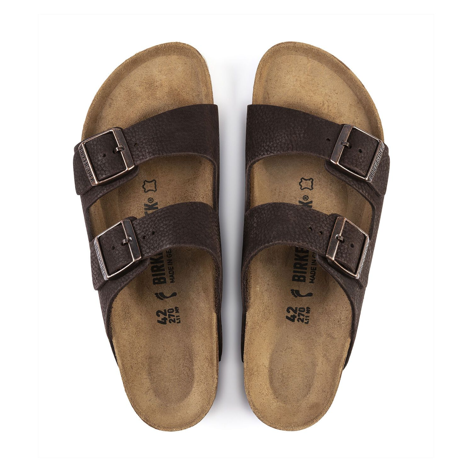 Birkenstock Arizona NU Steer Soft Brown Narrow