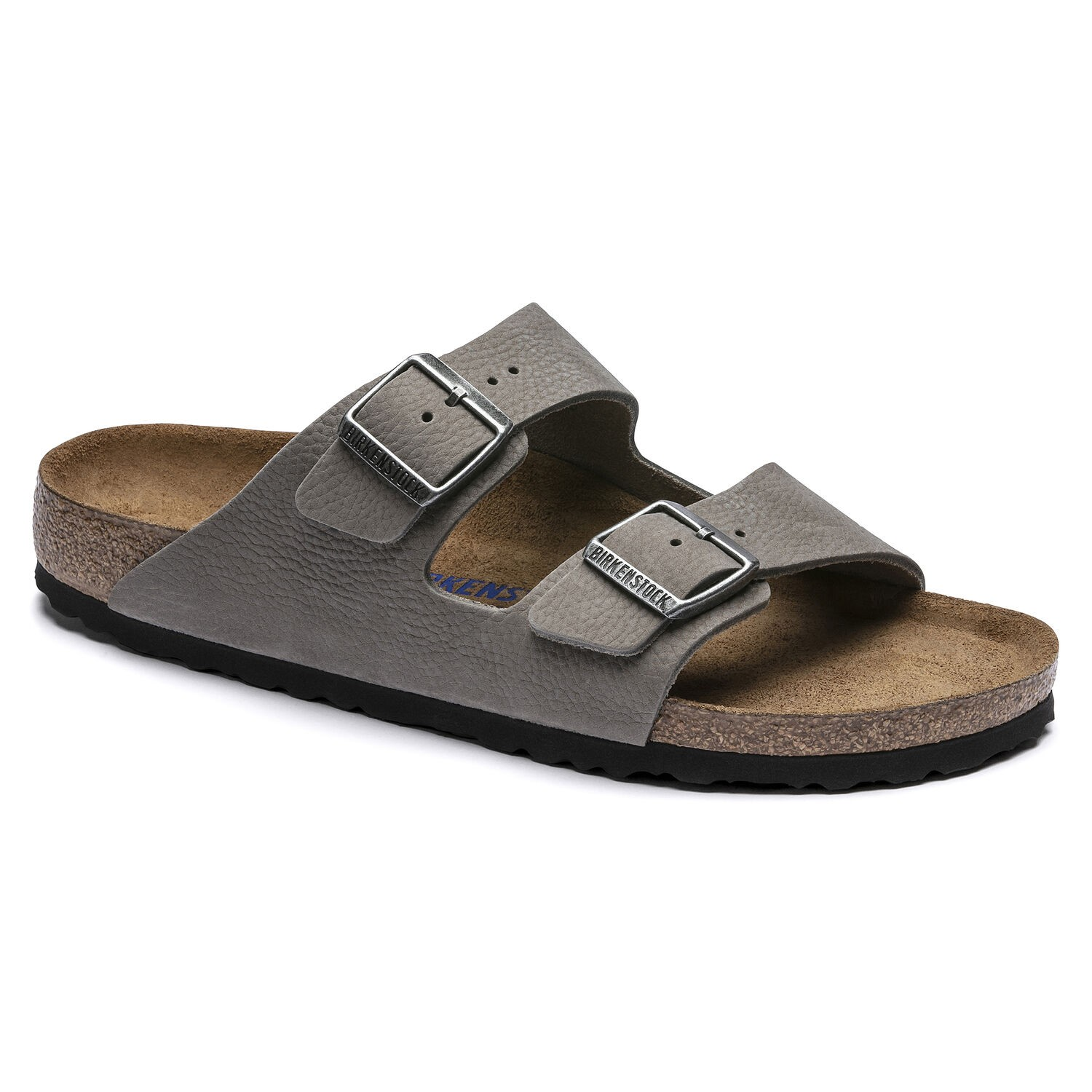 Birkenstock Arizona SFB NU Soft Whale Gray Regular