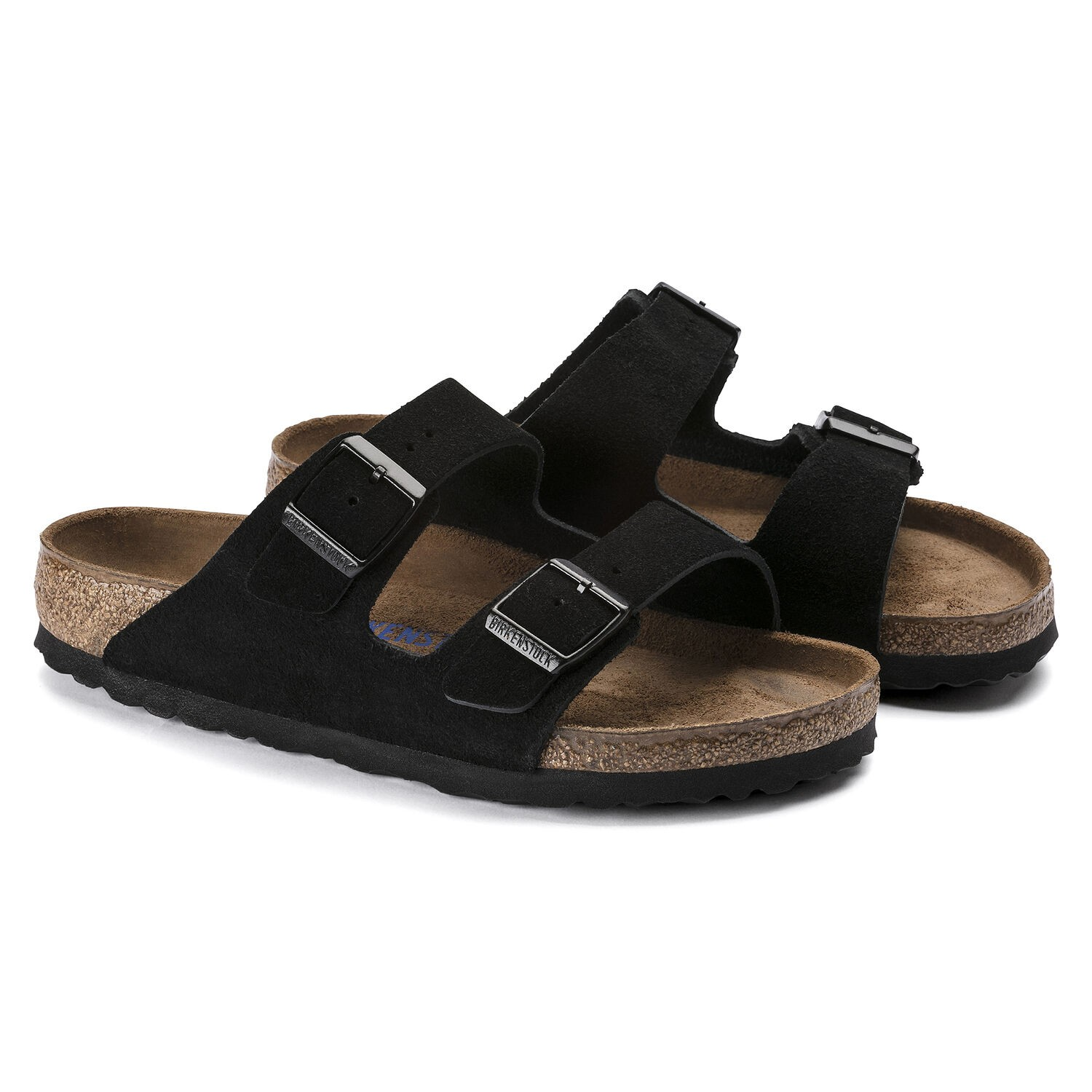 Birkenstock Arizona SFB Suede Black Regular