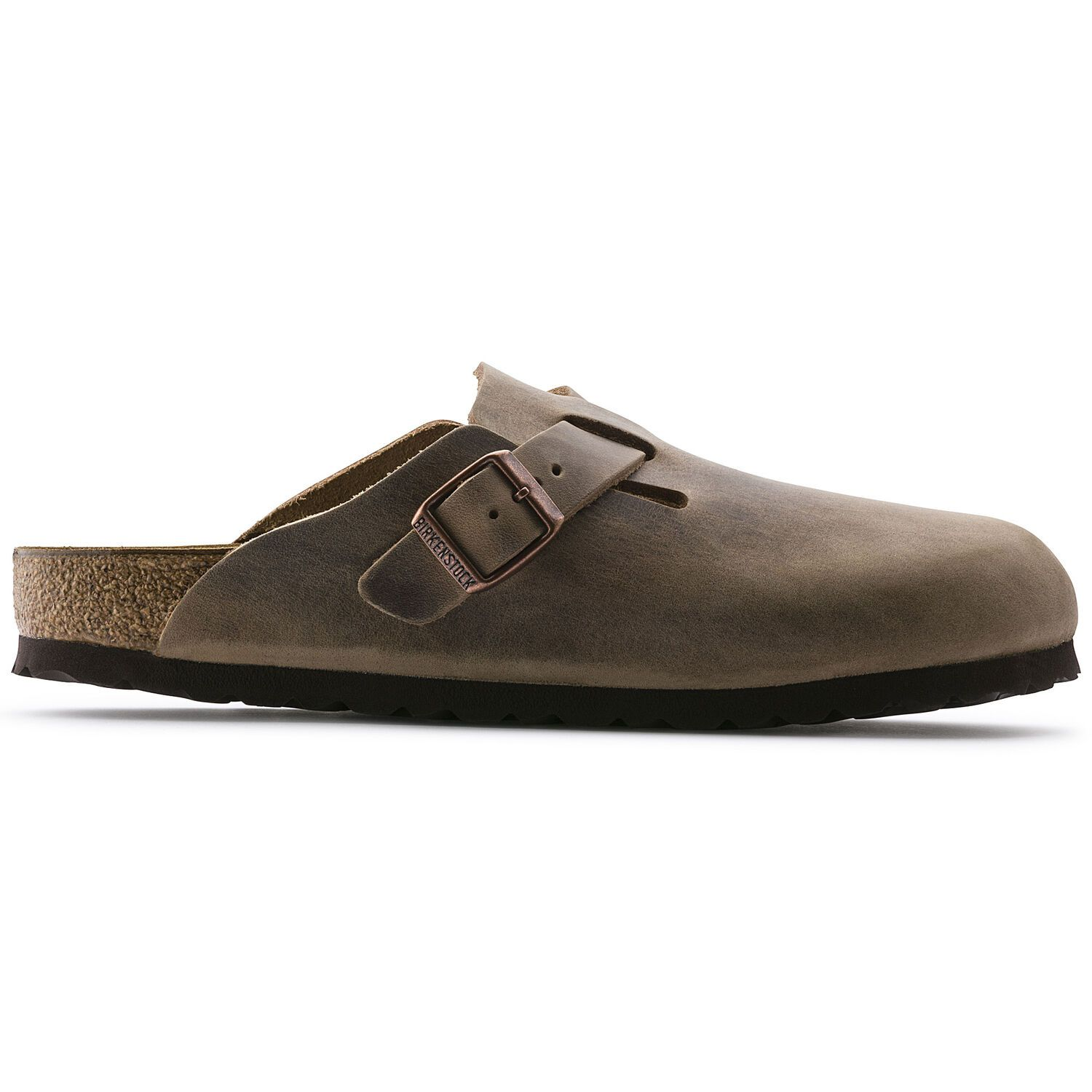 Birkenstock Clog Boston Fl Tabacco Brown Regular