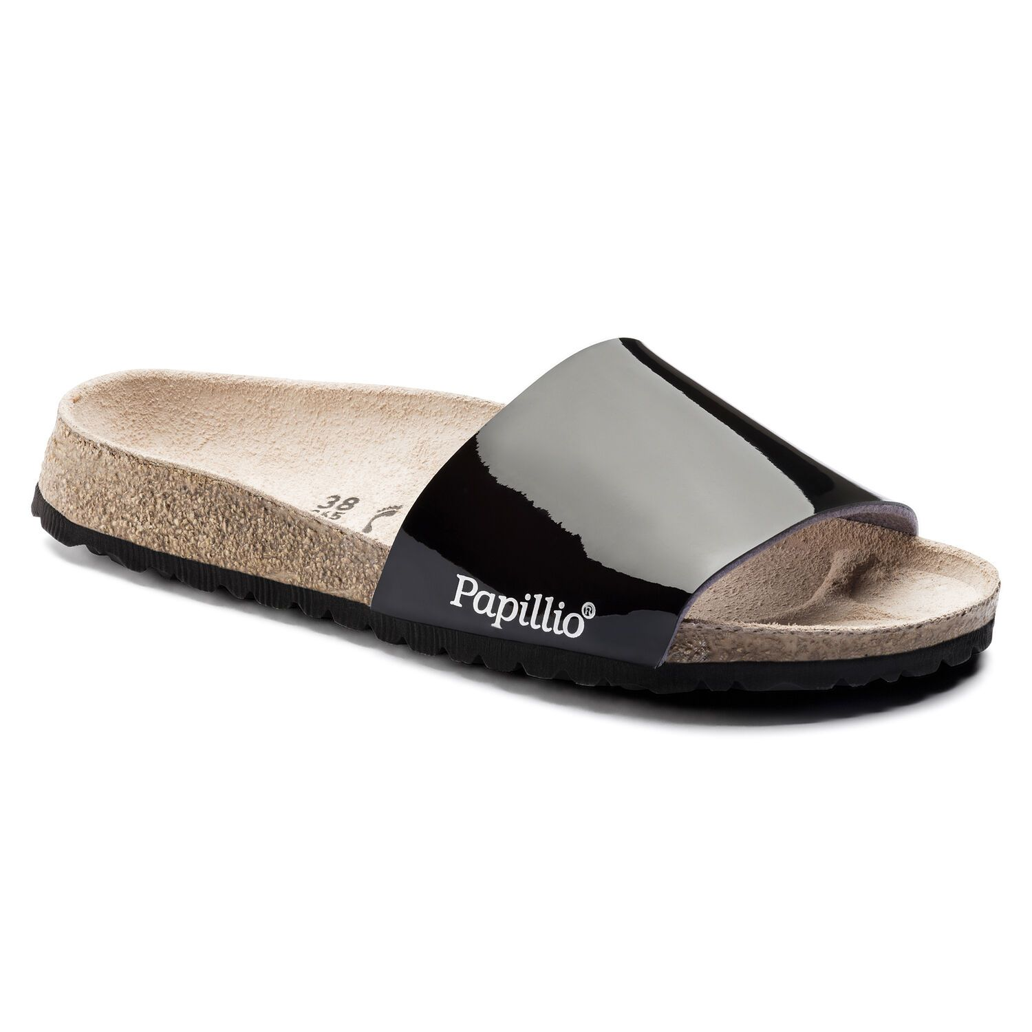 Birkenstock Cora BF Two Tone Patent Black Narrow EN