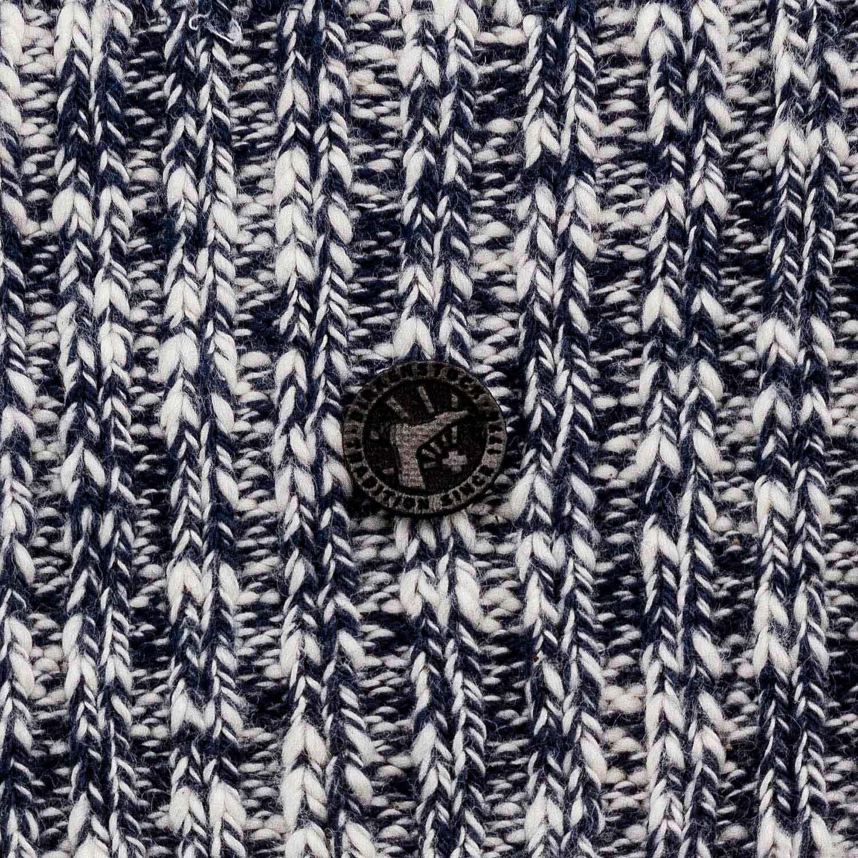 Birkenstock Meia Cotton Slub Feminina Blue White