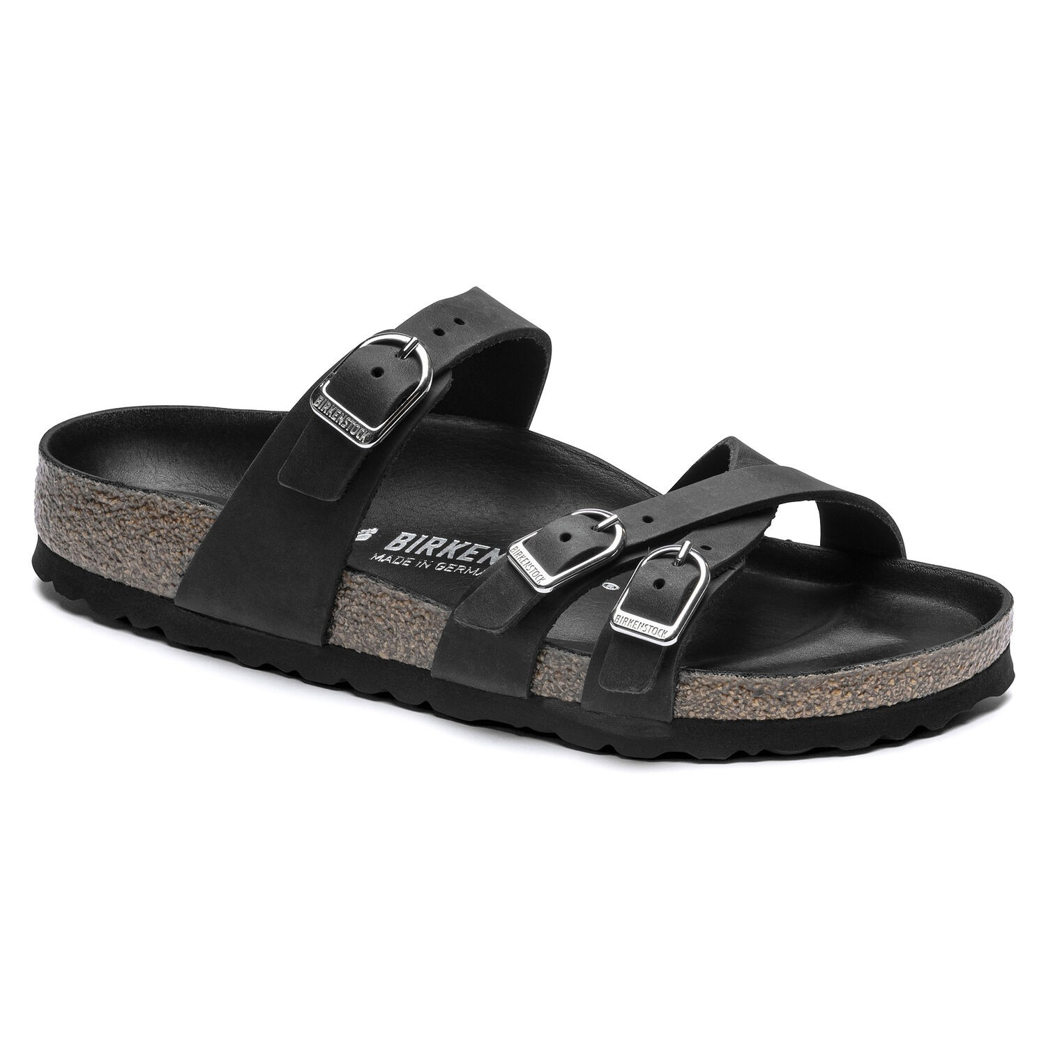 Birkenstock Franca FL Black HEX Regular