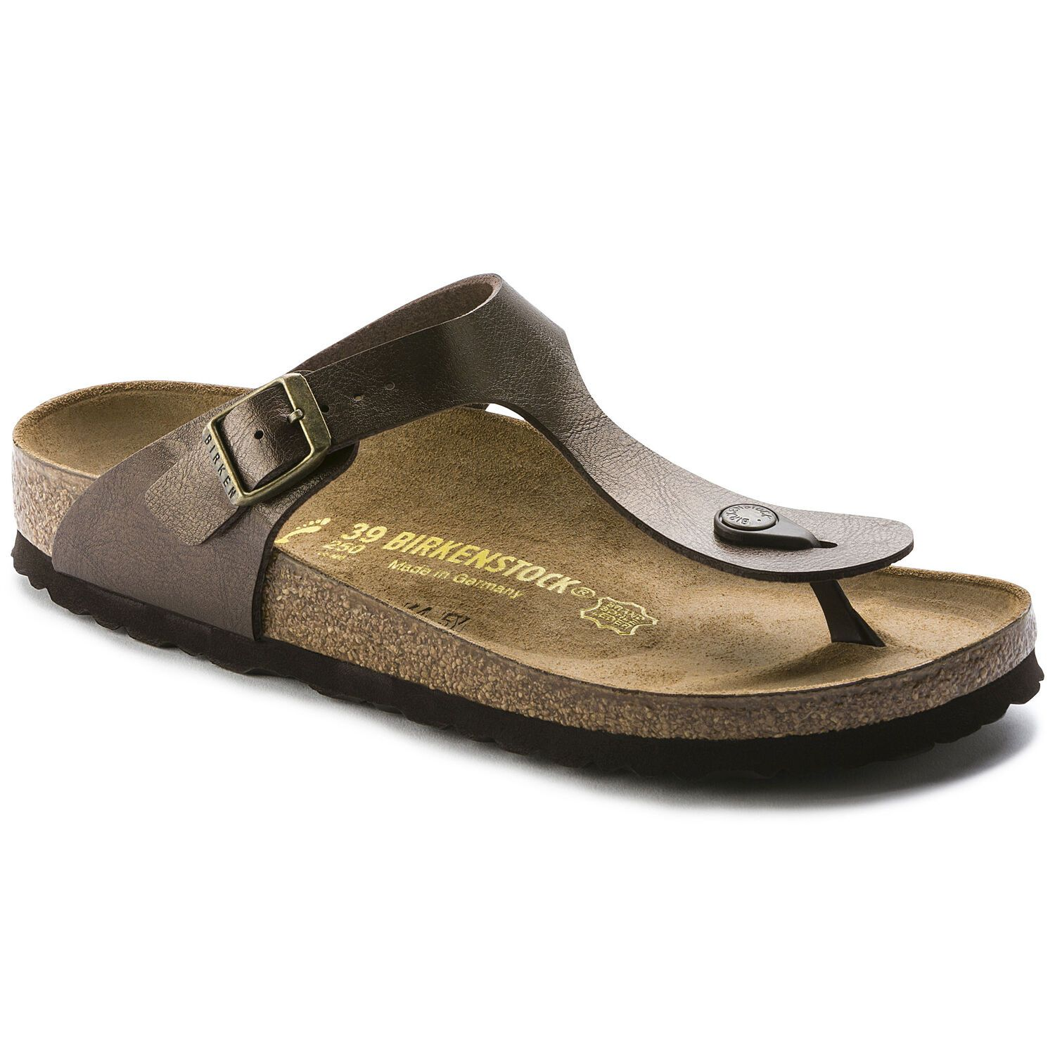 Birkenstock Gizeh Bf Graceful Toffee Narrow EN