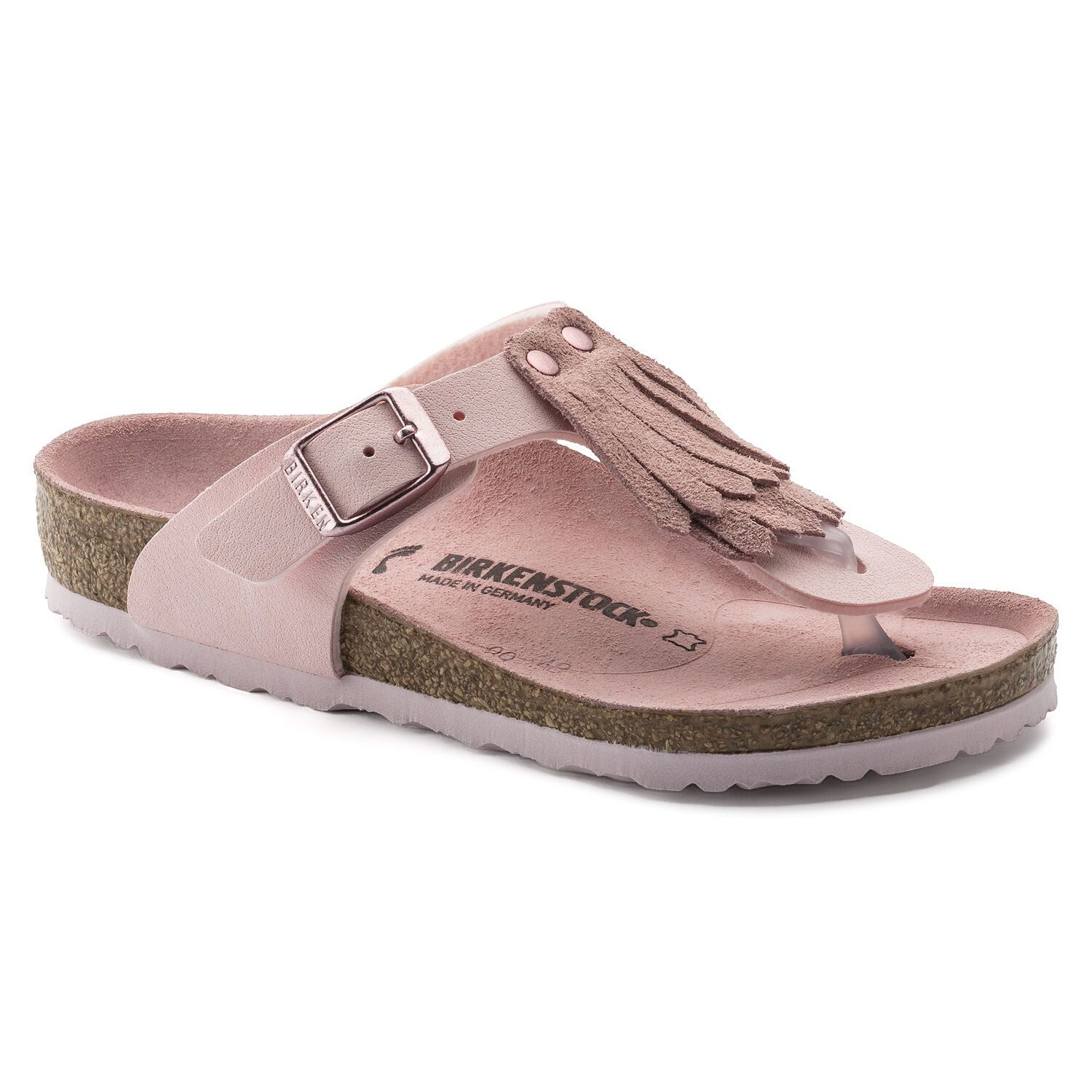 Birkenstock Gizeh Fringes Kids BF NB VL Rose Narrow EN