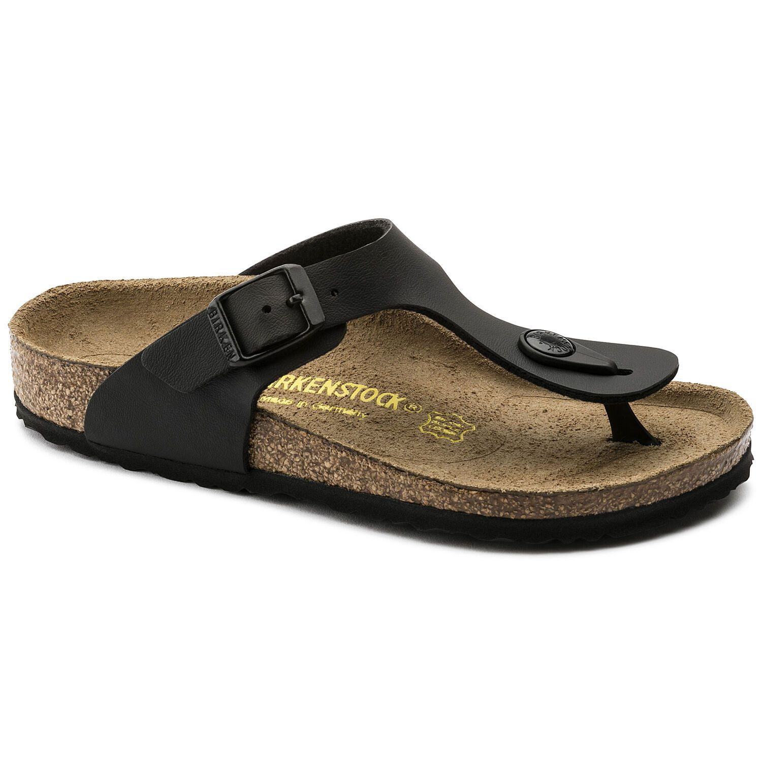 Birkenstock Gizeh Kids BF Black Narrow