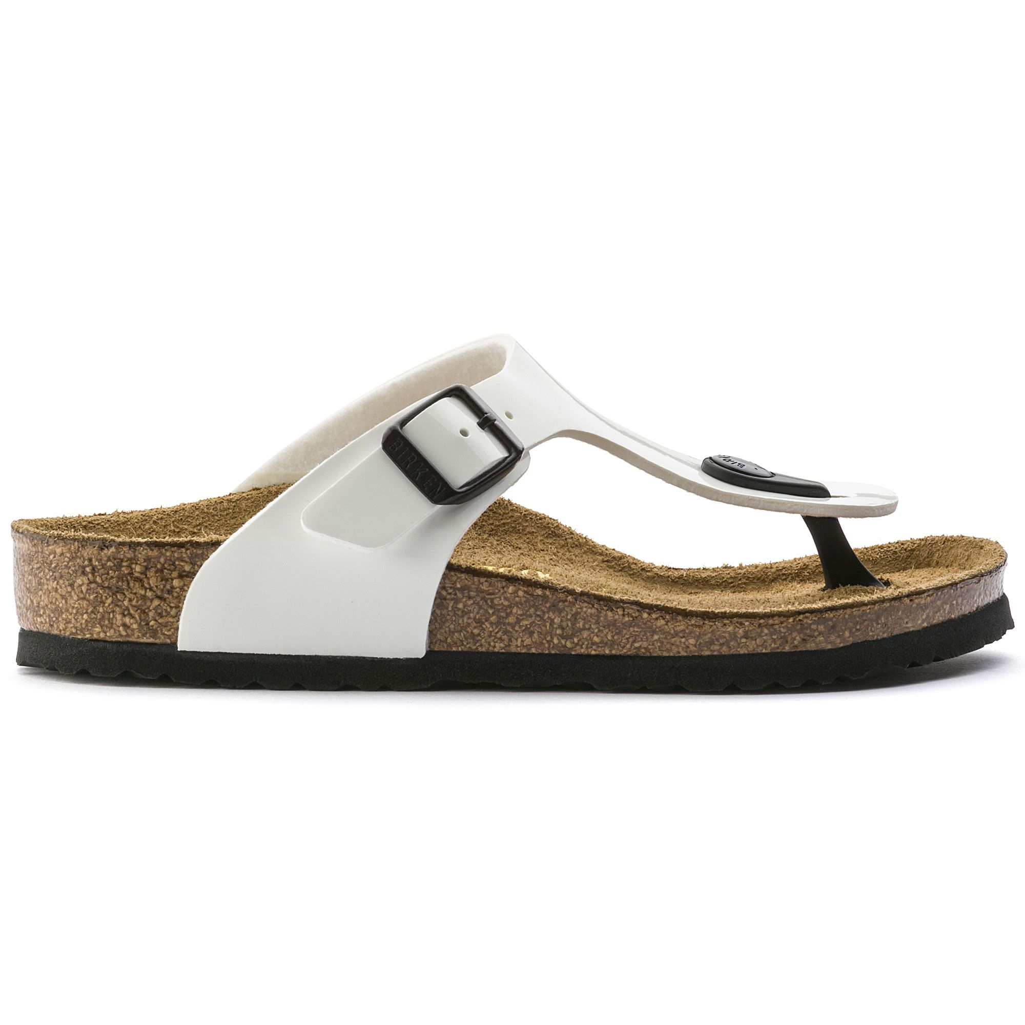 Birkenstock Gizeh Kids Bf Lack White Narrow