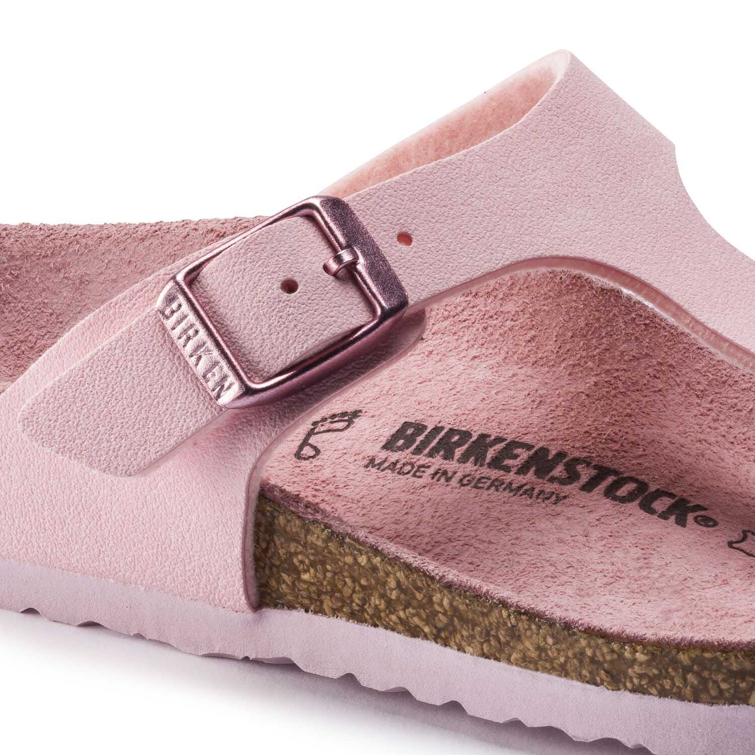 Birkenstock Gizeh Kids BF Nubuck Rose Narrow