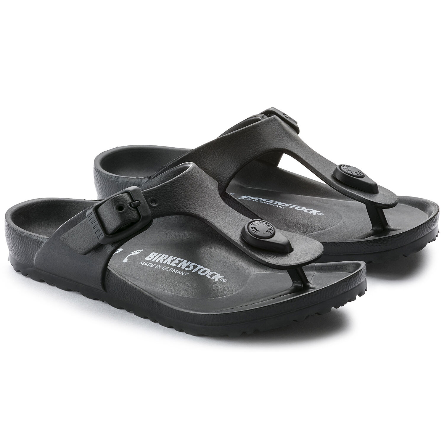 Birkenstock Gizeh Kids EVA Black Narrow