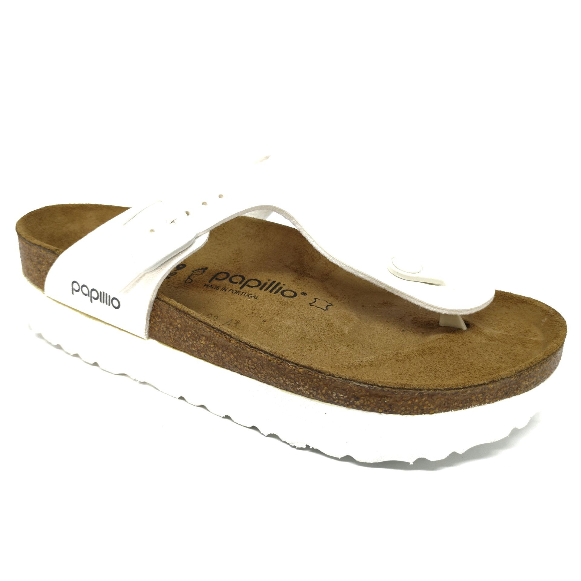 Birkenstock Gizeh Plataform BF White Regular