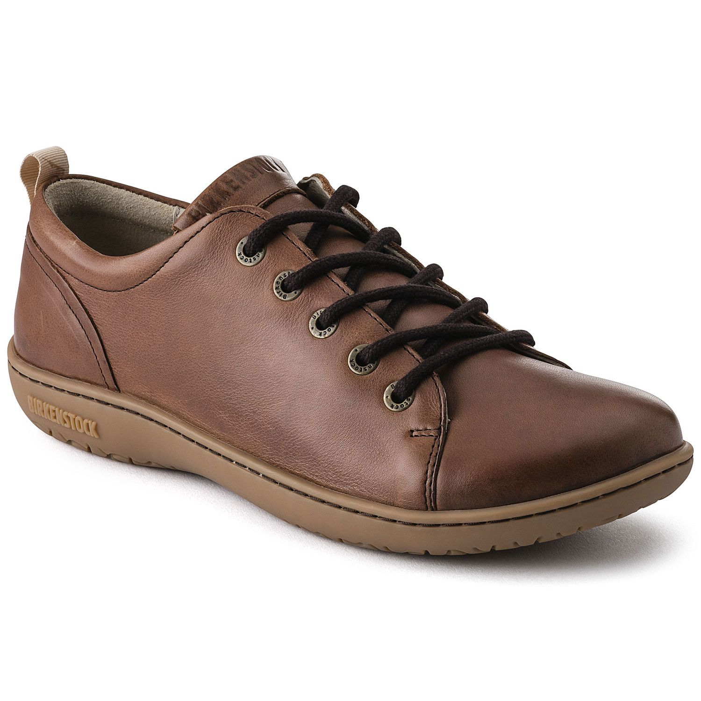 Birkenstock Sapato Islay Couro Natural Regular