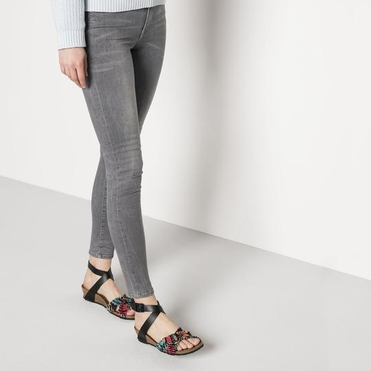 Birkenstock Lola NL/ST Flower Frill Black Narrow