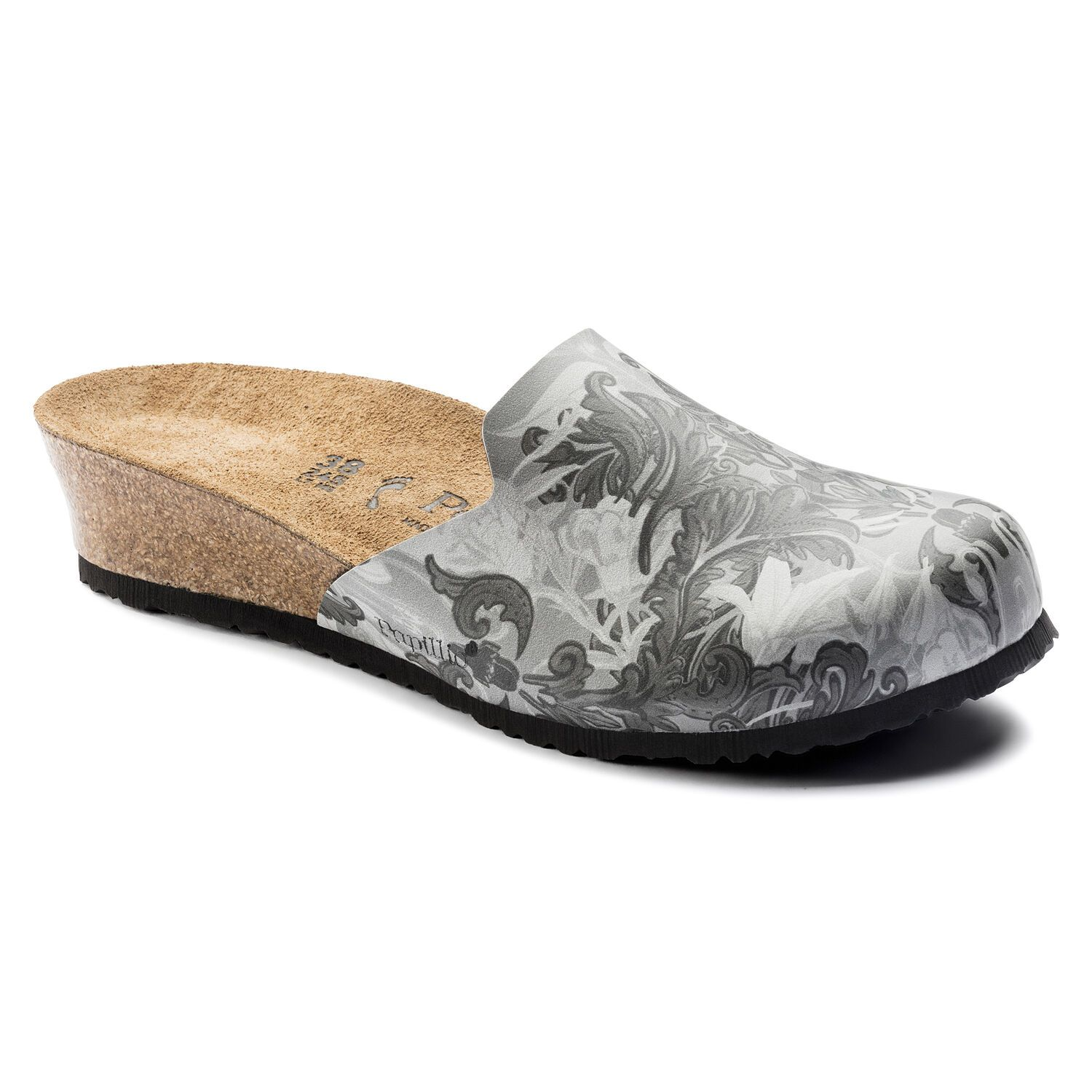 Birkenstock Lucy BF DD Damask Grey Narrow EN