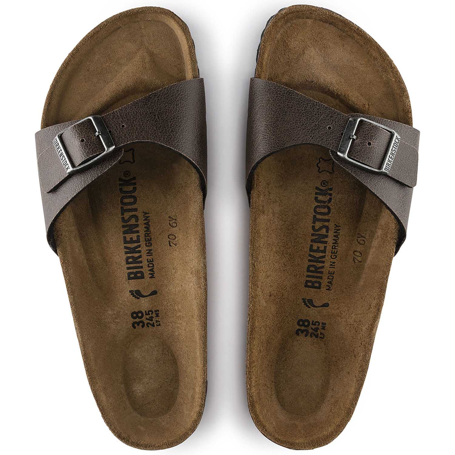 Birkenstock Madrid BF Pull Up Brown Regular