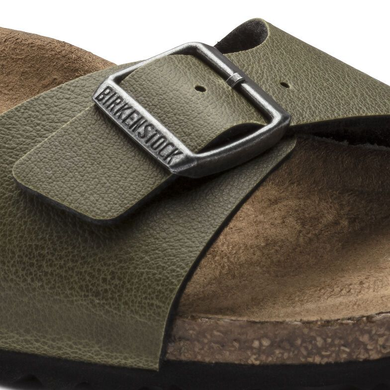 Birkenstock Madrid Bf Pull Up Olive Veg Narrow