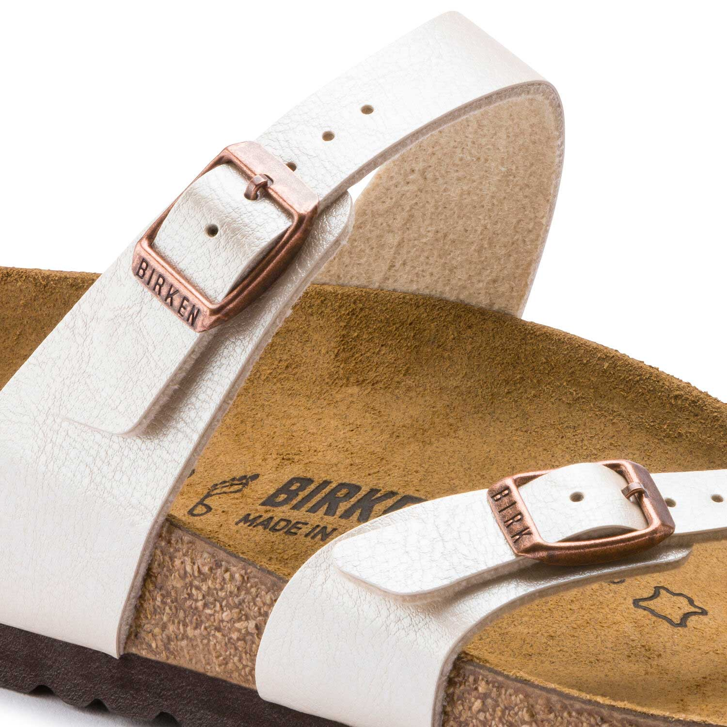 Birkenstock Mayari BF Graceful Pearl White Regular