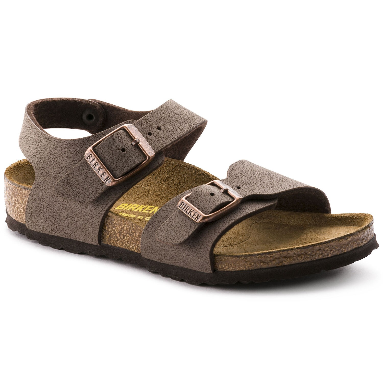 Birkenstock New York Kids BF Nubuck Mocha Regular