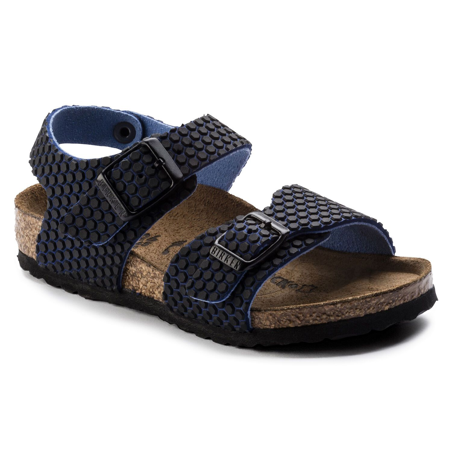 Birkenstock New York Kids MF Octopus Blue Black Narrow EN