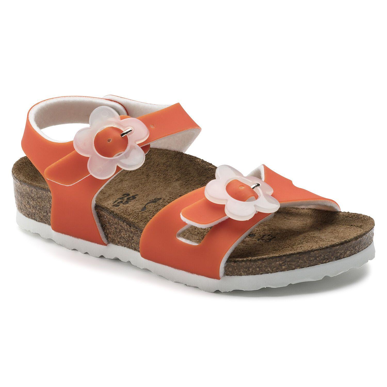 Birkenstock Rio Kids BF Candy Orange Narrow EN
