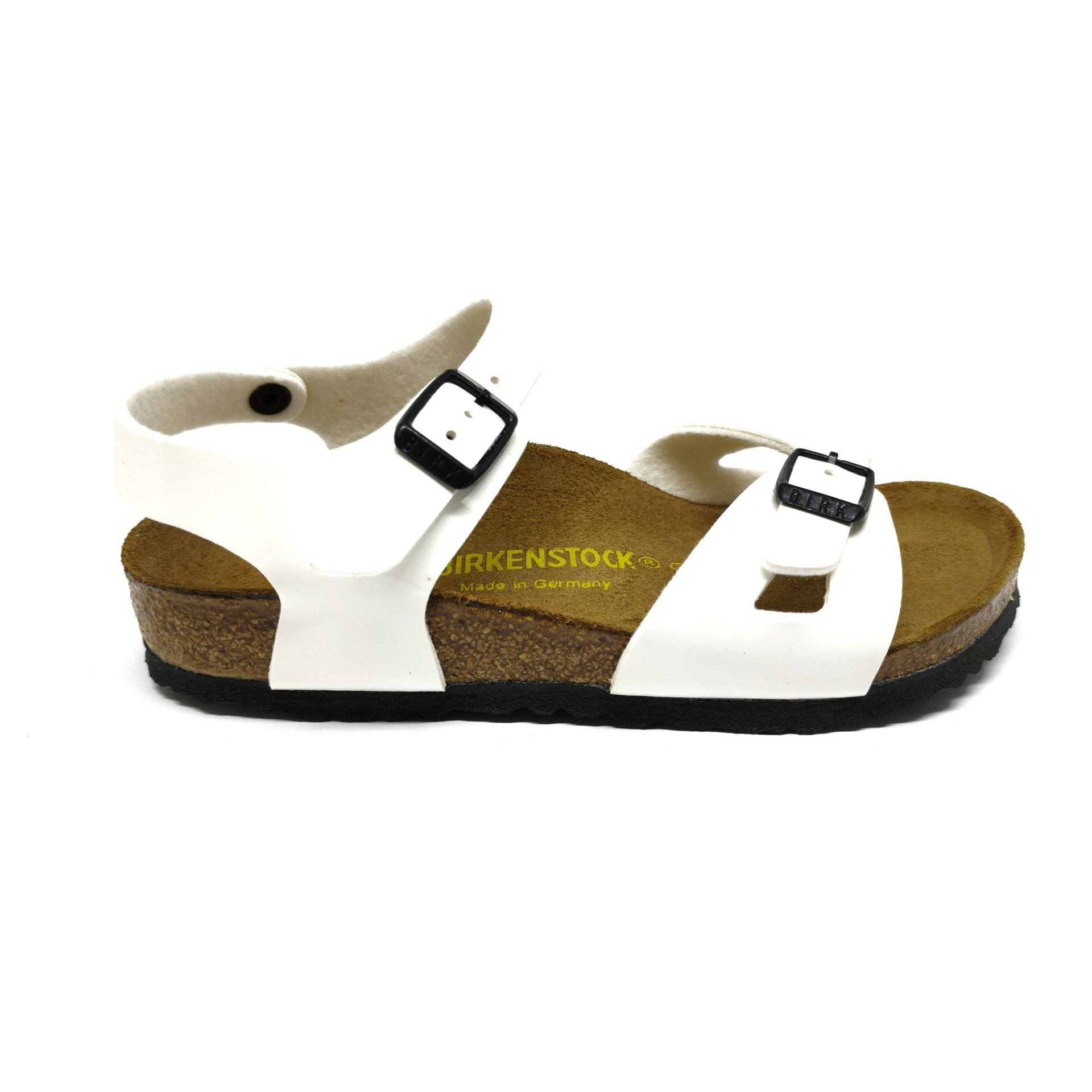 Birkenstock Rio Kids BF Lack White Narrow