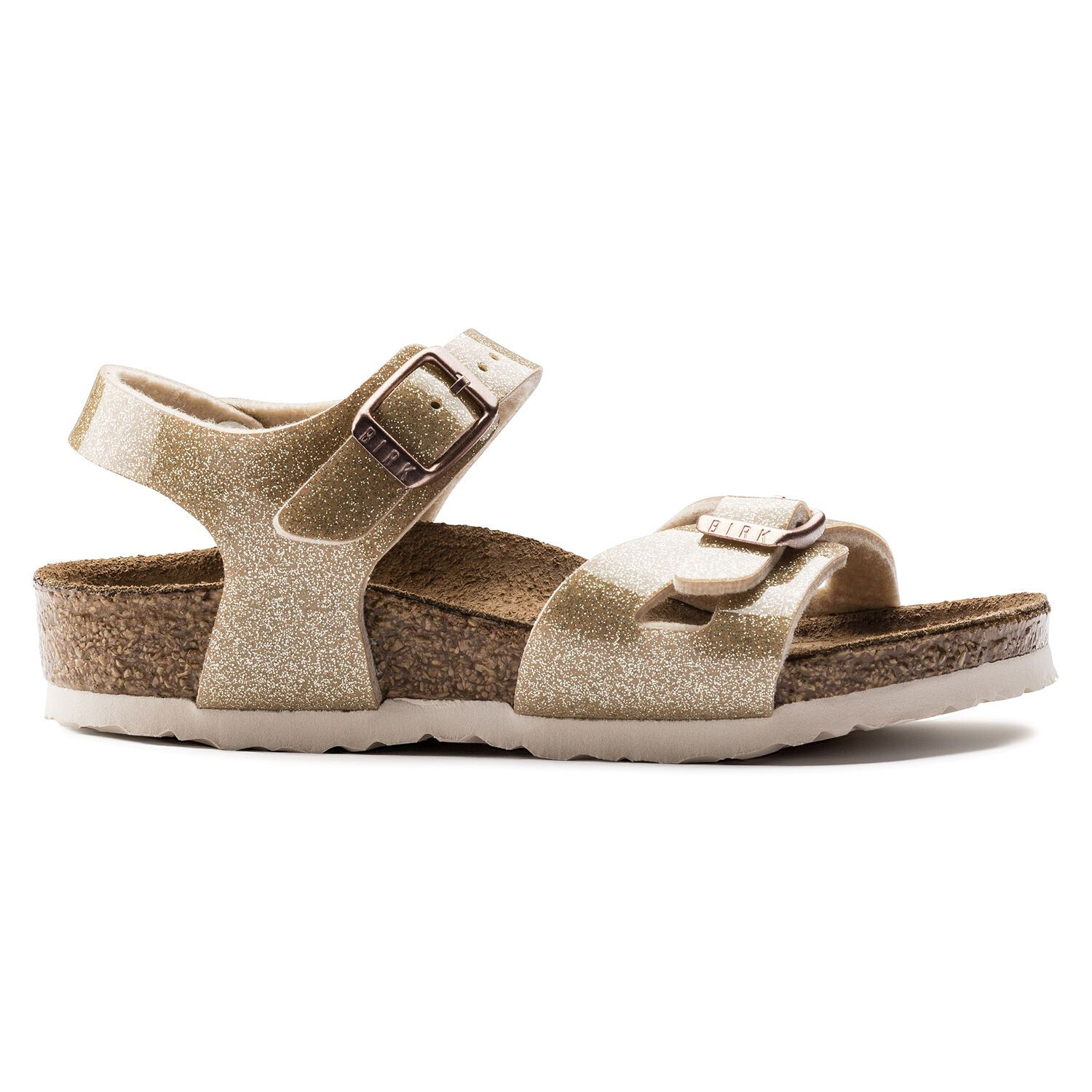 Birkenstock Rio Kids BF Magic Galaxy Gold Narrow